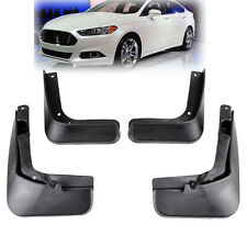 XUKEY Fit For Ford Fusion 13 thru 17 Molded Splash Guard Mud Flap Front Rear Set