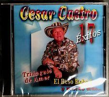 """CESAR CASTRO Y SUS CORRALEROS - """" 17 EXITOS """" - CD"""