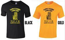 Hattori Hanzo T-Shirt Swords Sushi Japanese Samurai Katana Kill Bill