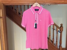 PENGUIN polo shirt Brand New with tags Very Berry Men's Medium
