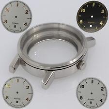 Uhren gehäuse ETA 2824-2 + Zifferblatt Watch Case + Dial Set ETA 2824-2 Sapphire