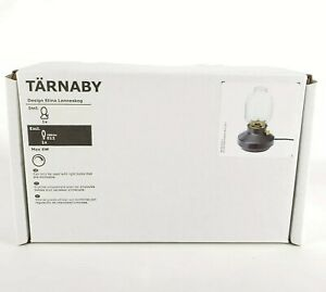 Ikea TÄRNABY Table Lamp, Dimmable Inspired by Old Kerosene Lamps New Black