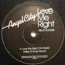 """ANGEL CITY - Love Me Right Album Sampler EP (12"""") (VG+/G+)"""