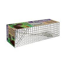Humane Animal Trap Medium Size Cage - Ideal Squirrel Wild Cat Catcher stv072