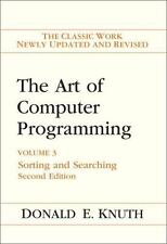 The Art of Computer Programming: Volume 3: Sorting and Searching 2nd Edition