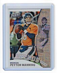 2019 Panini National VIP Silver Pack - Peyton Manning Escher Squares /25 Broncos