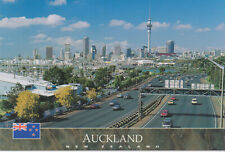 Postkarte / Postcard: Auckland from the Ponsonby Over-pass, Neuseeland