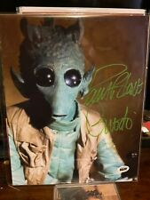Paul Blake Autograph 8x10 Photo Star Wars Greedo Signed BAM BOX  Box V5 #1