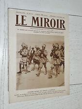 MIROIR 11-18/10 1914 GUERRE 14-18 SIKHS GOURKHAS REIMS SERBIE BELGIQUE AFRIQUE