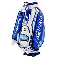 2018 NEW Honma Golf Caddy Bag TOUR WORLD CB-1801 Men's Blue from japan