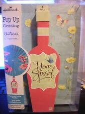 Hallmark Marjolein Bastin MESSAGE IN A BOTTLE Pop Up Greeting Card