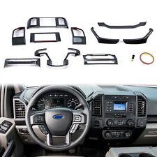 For 2015-2020 Ford F150 F-150 Carbon Fiber Style Interior Decor Accessories Trim