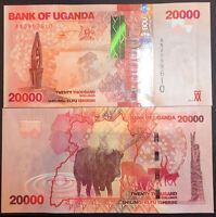 UGANDA 20,000 20000 SHILLINGS 2015 (2016) P NEW UNC