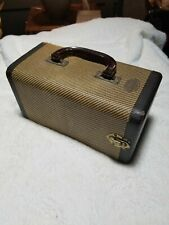 Vintage Barnett Jaffee Baja Hardcover 2 Drawer Carrying Case