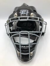 Easton Stealth Speed Catcher's Helmet & Mask Size Large Black & Silver Preowned