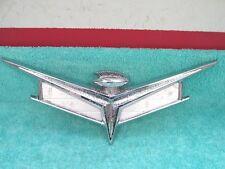 1959 BUICK INVICTA  ELECTRA  TRUNK EMBLEM  1017