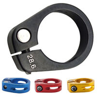 28.6mm Balance Bike MTB Mountain Bicycle Seat Post Clamp Tube Clips Gear Parts