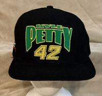 VTG Kyle Petty #42 Mello Yello Nutmeg Adult OSFA Snapback Hat Cap NASCAR Cup
