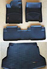 WeatherTech DigitalFit FloorLiner 2011-2014 Ford Explorer Black Front+Rear+Cargo