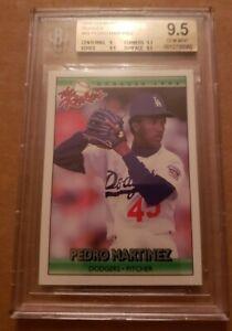 1992 Donruss Rookies #69 Pedro Martinez BGS Graded 9.5 Gem Mint