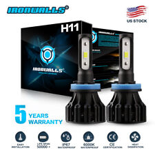 H11 H8 1400W 210000LM CREE LED Headlight Lamp Bulb Conversion Kit fog light HID