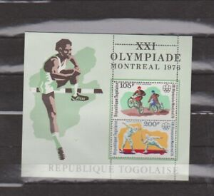 Togo Bl. 109A - 1976 Olympics Montreal