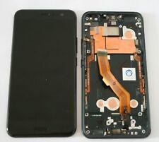 "GENUINE HTC U11 5.5"" LCD SCREEN DISPLAY DIGITIZER BLACK FULL HOUSING"