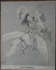 WILLETTE ADOLPHE LEON (1857-1926) - Gravure - AU SOLEIL!
