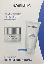 Pack Moisturising Cream Spf15 50ml Revitalising facial Scrub 150ml Montibello