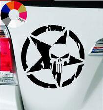 The-Punisher-Sch-del-Auto AutoAufkleber – Auto Tattoo – Wand Tattoo 8x8 cm #11