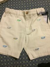 NWT Vineyard Vines Boys Size 8 Classic Fit Breaker Whale Shorts