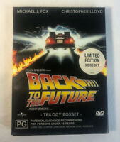 Back To The Future Limited Edition 3 Disc Set PAL 2,4