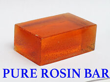 4 Oz.  BAR .  Pine Gum Rosin / Colophony  / Flux  FREE SHIPPING  / PURE ROSIN