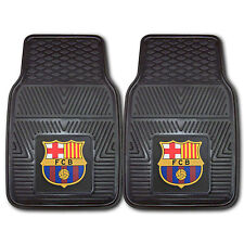 New FC Barcelona Football Soccer Car Truck Front All Weather Rubber Floor Mats