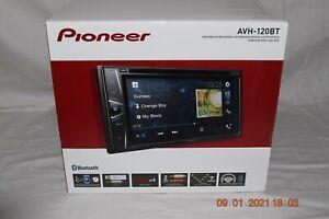 Pioneer AV Receiver AVH - 120BT  DVD RDS USB Bluetooth CD   NEW ! WowZa !!
