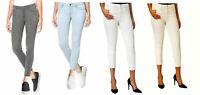 Buffalo David Bitton Women's Aubrey Mid Rise Super Soft Capri Pants