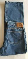 EDDIE BAUER Men Specialty Dyed Relaxed Fit Cotton Denim Jean - 38x32 Dark Blue