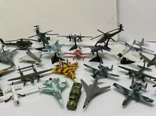 Lot of MAISTO DIECAST PLANES Mostly Military Airplanes Helicopters