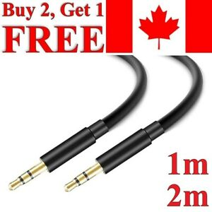 3.5mm AUX Cable High Quality Stereo Audio Auxiliary Gold Plated Cable
