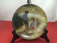 Pemberton & Oakes Plate Donald Zolan Childhood Friendship Country Walk
