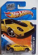 Hot Wheels Hot Auction Callaway C7 6/10 YELLOW