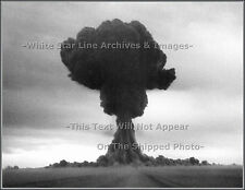 Photo: Russia's 1st A-Bomb 'Joe 1' Detonates, Kazakhstan Detonation Tower, 1949