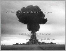 Photo: Russia's 1st A-Bomb 'Joe 1' Detonates, Kazakhstan Detonation Tower, 1949