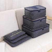 6Pcs Fashion Bra Underwear Storage Container Travel Clothes Organizer Bag Superb