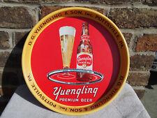 Vintage D.G Yuengling & Son Pottsville Pa Premium Beer Metal Tray White Label