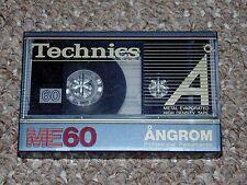 Vintage Technics Angrom RT-ME60 Metal IV Audio Cassette Tape Brand New Japan