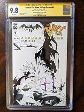 Sam Kieth & Jae Lee Signed 2018 Batman/The Maxx: Arkham Dreams 1 CGC 9.8 Variant