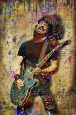 Dave Grohl Of The Foo Fighters Poster, Pop Art Dave Grohl 20x30inch Free Ship