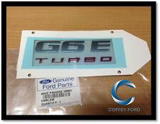 Ford FG G6e Turbo Badge Genuine