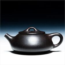 Chinese Yixing zisha teapot handmade Purple clay heijinsha 180cl